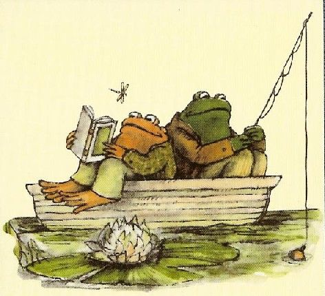 Arnold Lobel wrote and illustrated Frog and Toad Together