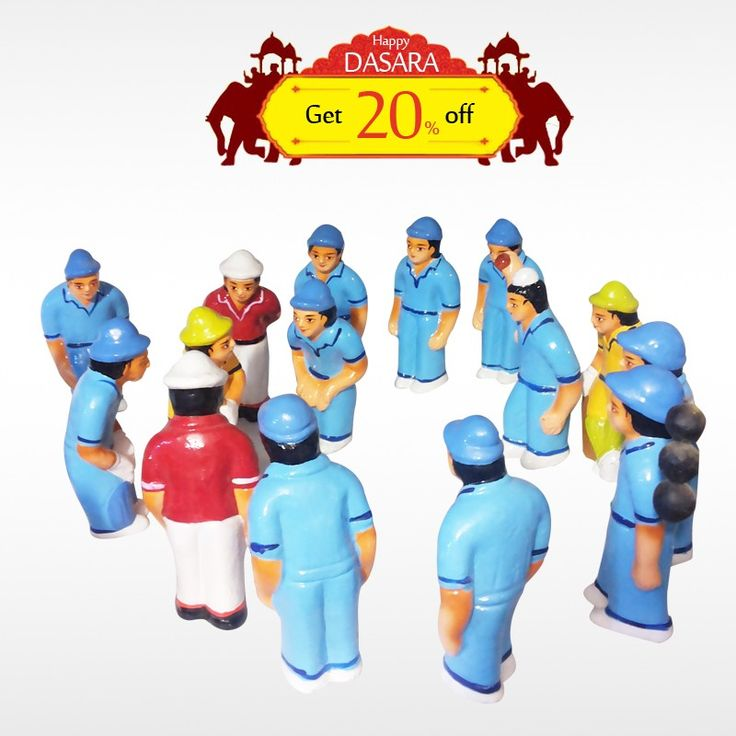 Buy authentic #CricketSet  and get 20% off on all #DasaraDoll and make your #DasaraSet  more unique.  #BringHomeFestival