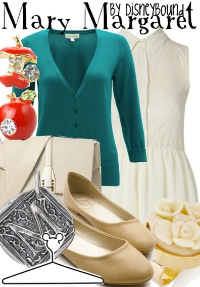 Disney Bound - Mary Margaret (Once Upon a Time, ABC)---I just love her soft side of Mary Margret....Elegant...
