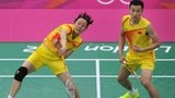 China's Zhao Yunlei and Tian Qing win their nation's third 2012 Olympic badminton gold with success in the women's doubles.