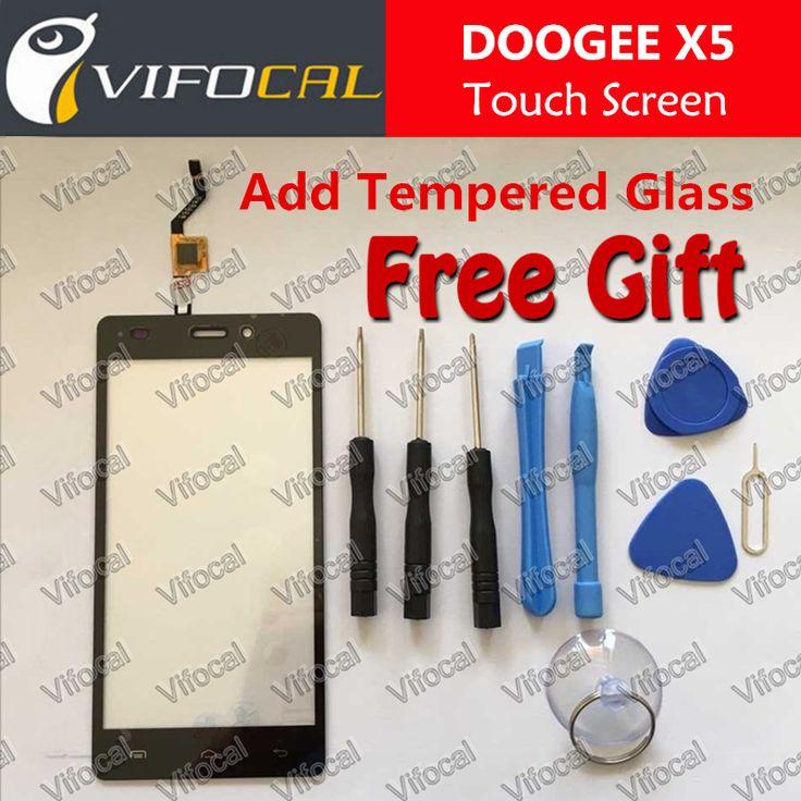 Doogee X5 Écran Tactile + Outils Ensemble Cadeau 100% D'origine Digitizer Remplacement Assemblée Panneau de Verre Pour Doogee X5 Téléphone portable