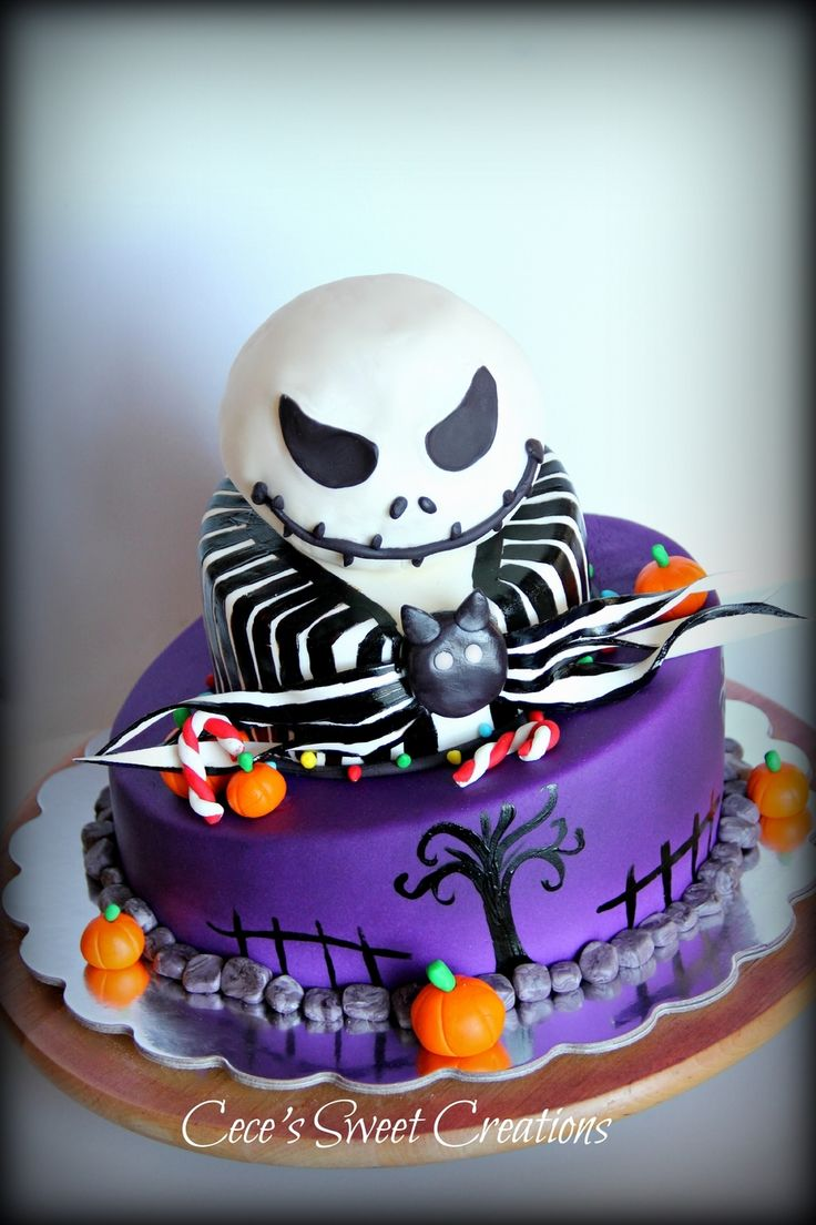 45 best Creepy Nightmare Before Christmas Cakes images on Pinterest