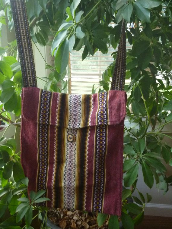 BOHO-CHIC HIPPIE Bag Purse and Necklace