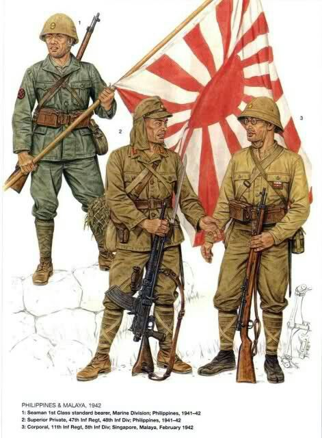 Uniformes Japones WW 2 del Ejército