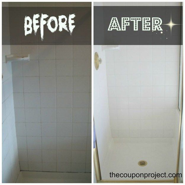 Regrout that shower. | 25 Cheap And Easy DIYs That Will Vastly Improve Your Home
