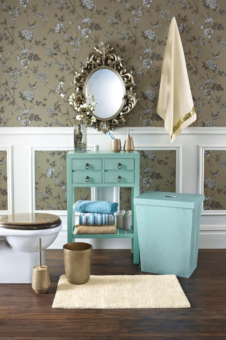 17 best images about decorating bathroom in teal and for Teal and brown bathroom decor