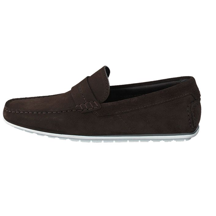 Køb Hugo - Hugo Boss C-Traveso Dark Brown   Loafers för Herre ✓ Fri fragt ✓ Fri retur ✓ Hurtig leverance. Prisgaranti!