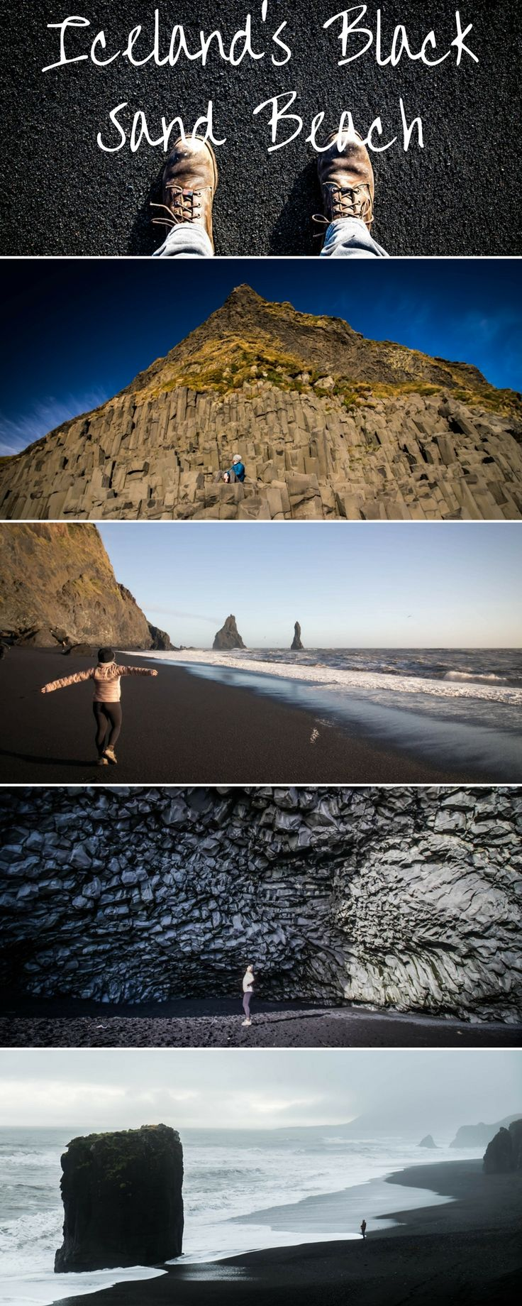Reynisfjara, the black sand beach in Iceland is one of the most popular tourist attractions to travel through in all of Iceland. Here is everything you need to know about it.