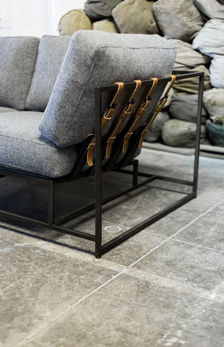 Elegant Furniture In Studio Of Designer Stephen Kenn.