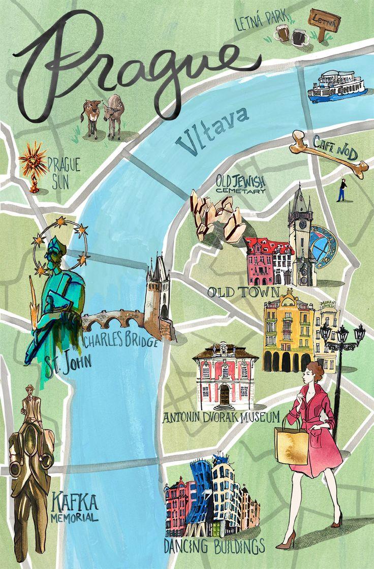 Prague Map — Jessica Olah