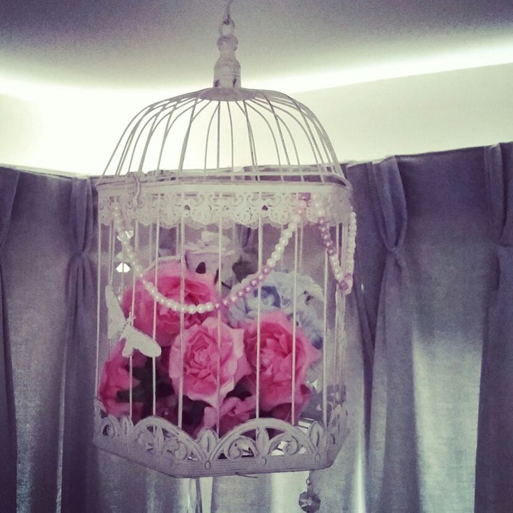 Bird cage home decor