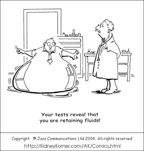 http://renalcalculi.net/dialysis-machine.html Dialysis machine. Dialysis Cartoons by Peter Quaife - August 2005 Cartoon