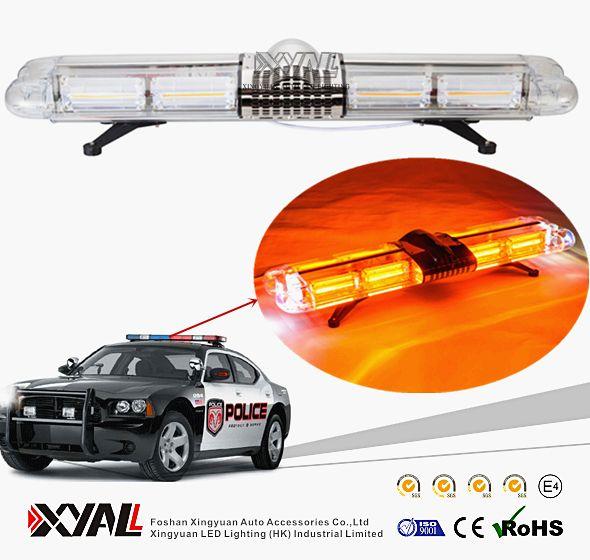 100W Bright LED COB Police Emergency Traffic Car Roof Warning Signal Lightbar With Speaker Inside