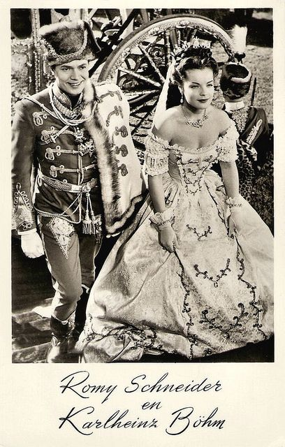 Romy Schneider, Karlheinz Böhm in Sissi by Truus, Bob & Jan too!, via Flickr