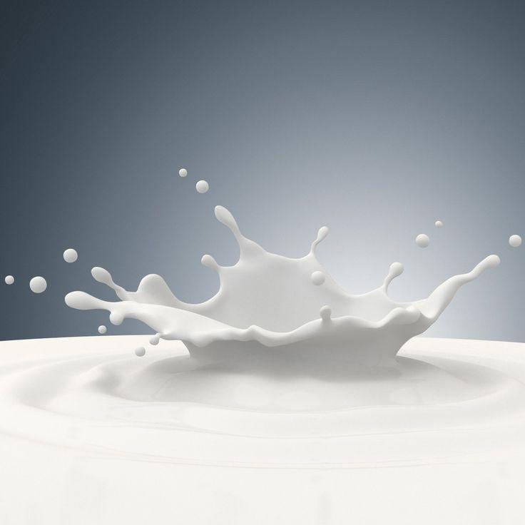milk splash 3d obj