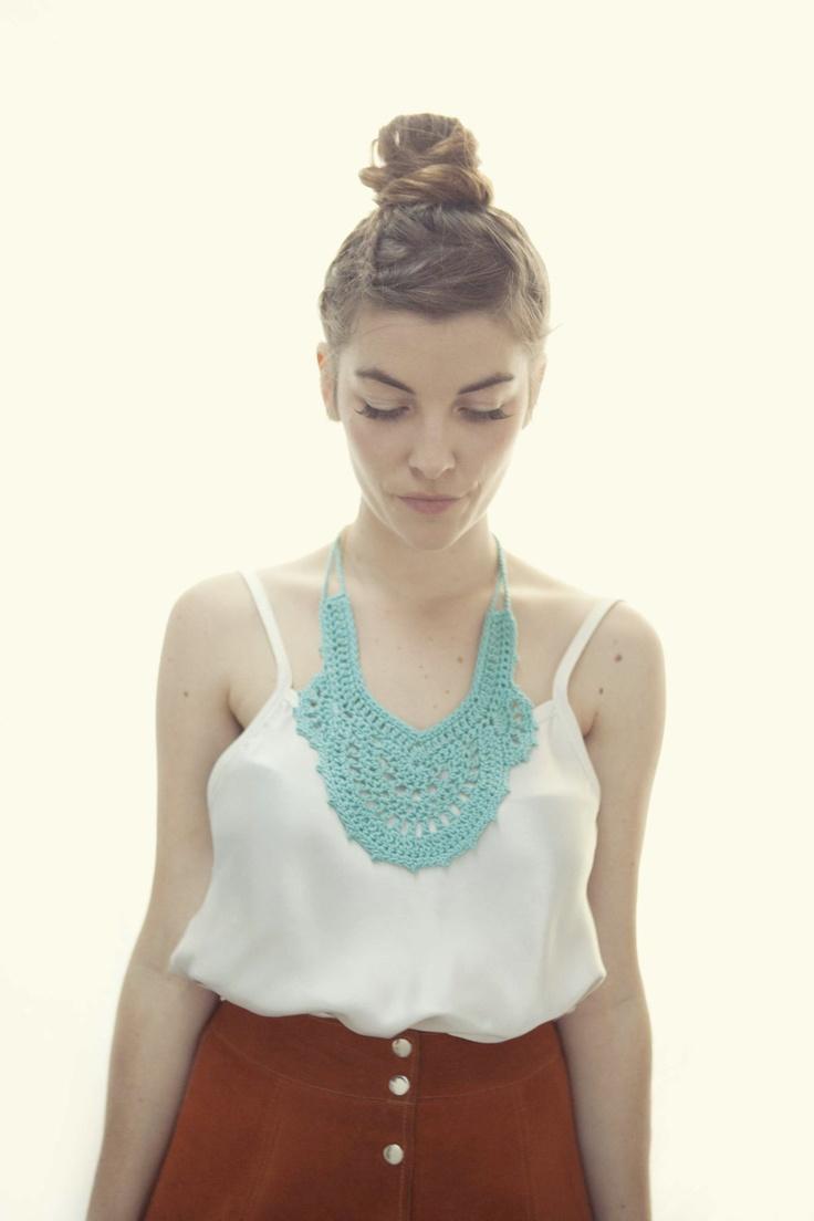 Crochet Collar - Deco