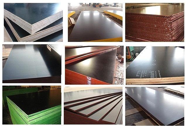 Film Faced Plywood / Shuttering Plywood / Formwork Plywood - China film faced plywood