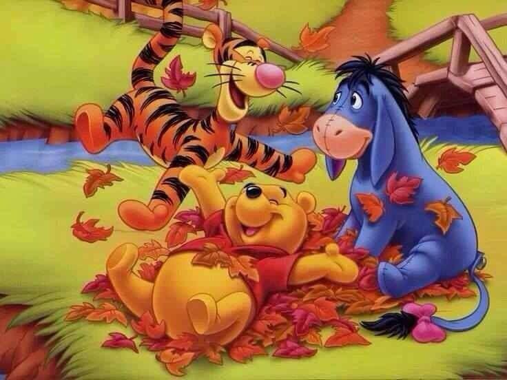 Autumn | Winnie the Pooh | Pinterest
