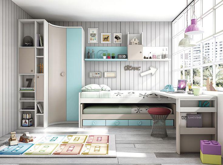 MYMOBEL Dormitorios Juveniles Modelo:Dormitorio juvenil MADEIRA Precio: 0.00€