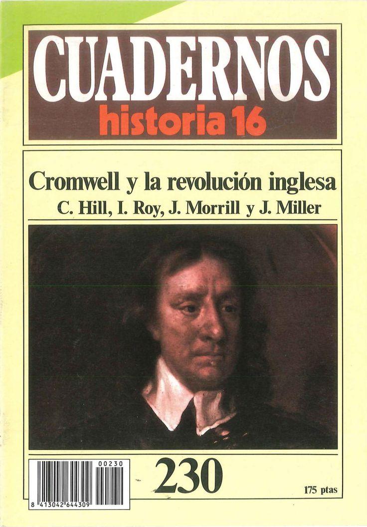 Cuadernos de historia 16 230 cromwell y la revolucion inglesa 1985  Cuadernos de Historia 16 número 230: Cromwell y la revolucón inglesa. Serie de 1985.