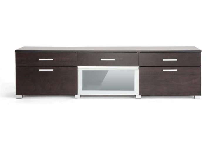 Basilio Dark Brown Modern TV Stand WL-2599-WI