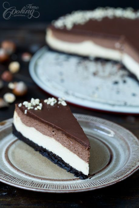 Nutella Cheeecake - one of the best cheesecakes ever