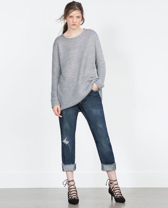 ZARA - WOMAN - 오버사이즈 스웨터