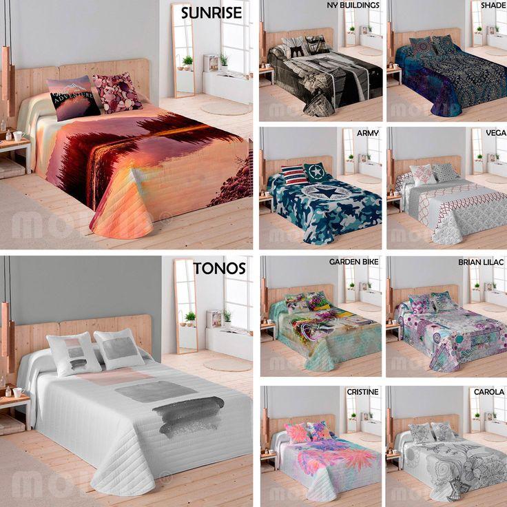 Colchas Bouti Baratas 100%ALGODÓN Colcha Bouti Fabricada en España Cubre cama | eBay