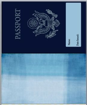 Passport create your own passport template for Make your own passport template