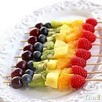Owocowe szaszłyki ;)