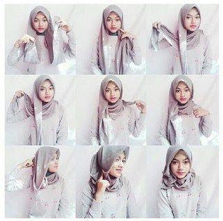 Tutorial Cara Memakai Hijab Modern dengan Gaya Berhijab Yang Modis dan Terbaru  #hijab #hijabers #muslimah #hijabfashion #hijabstyles #islam #hafana http://hafana.com