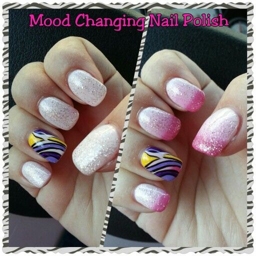 17 Best Ideas About Mood Changing Nail Polish On Pinterest
