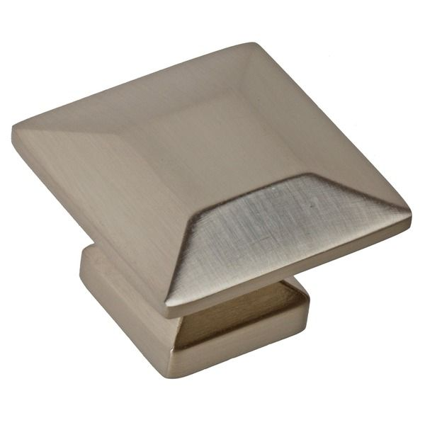 GlideRite 1.375-inch Satin Nickel Square Cabinet Knobs (Case of 25) - Overstock™ Shopping - Big Discounts on GlideRite Cabinet Hardware 43.95