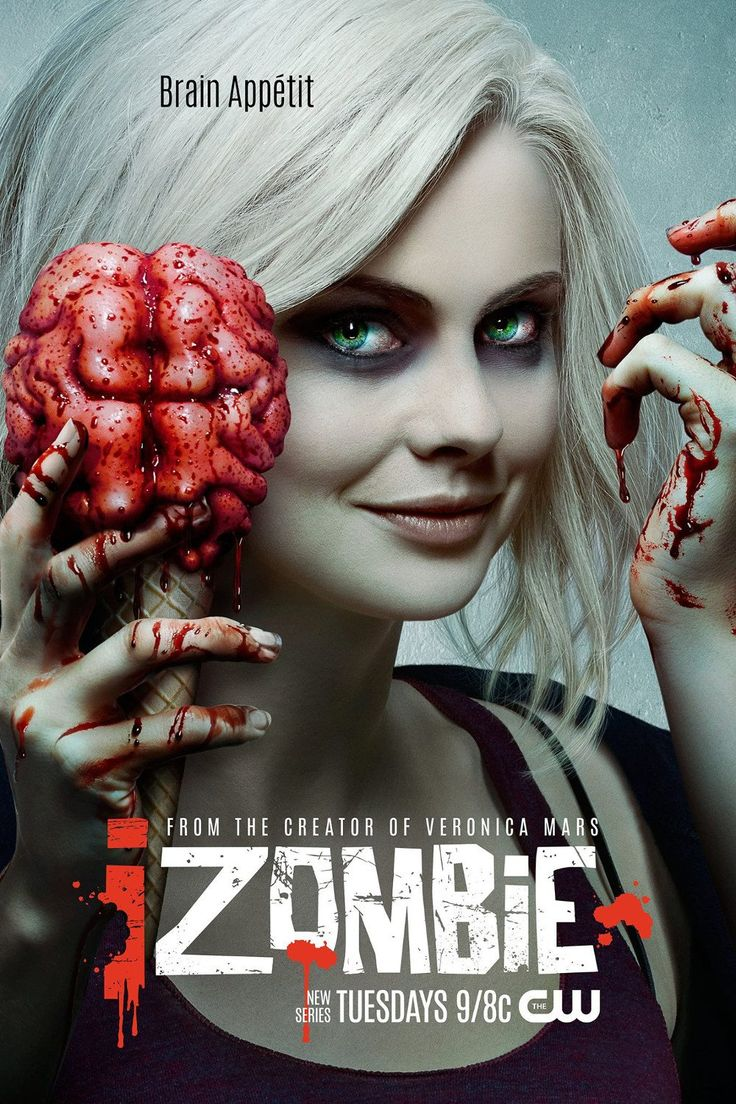 Is CW's iZombie TV series getting the right amount of traction? CW just released the new poster (3rd poster) for new horror TV series iZombie. The series premieres Tuesday March 17, 2015 at 9:00 pm EST. I am really curious how many of you like what you see so far, please leave a comment on your thoughts. Starring in CW's iZombie are Rose McIver, Malcolm Goodwin and Rahul Kohli.