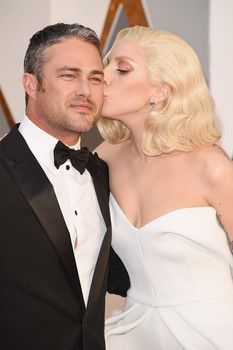 Lady Gaga and fiance Taylor Kinney. Who wore it best on the Oscars red carpet 2016? Tell us your best dressed Oscars picks in the comments section!