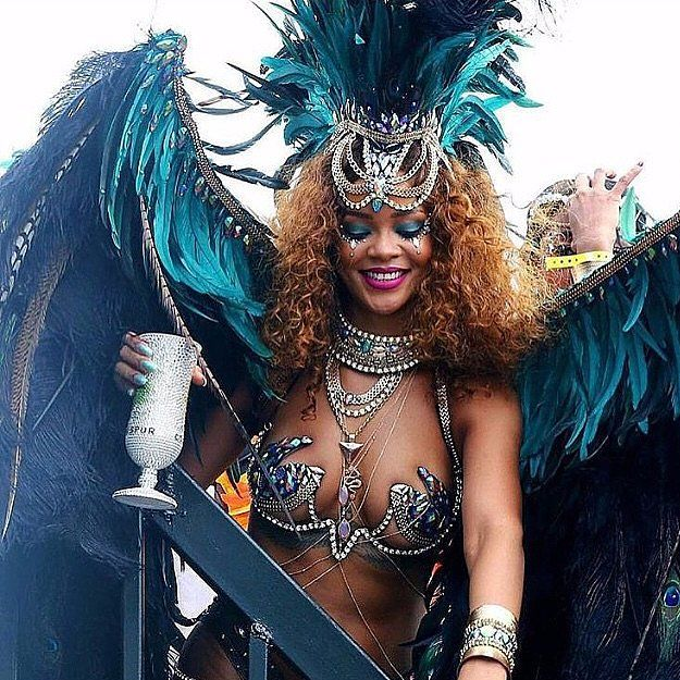 Rihanna Completely Steals the Show at Barbados's Carnival Festival
