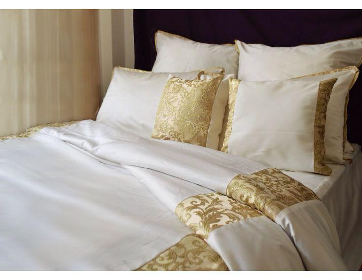 Ivory royal bedding set www.lenjeriidormitoare.com
