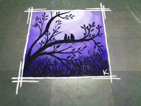 super poster latest rangoli - K274 - YouTube