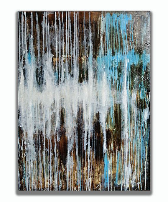 Abstract Painting  Original Painting  by RomanArtStudio on Etsy, $229.00
