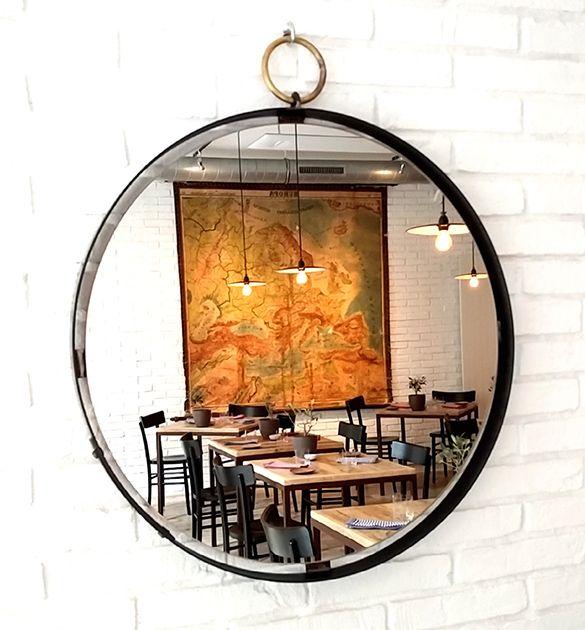 Oltre 25 fantastiche idee su design per ristorante su - Specchio stile industriale ...