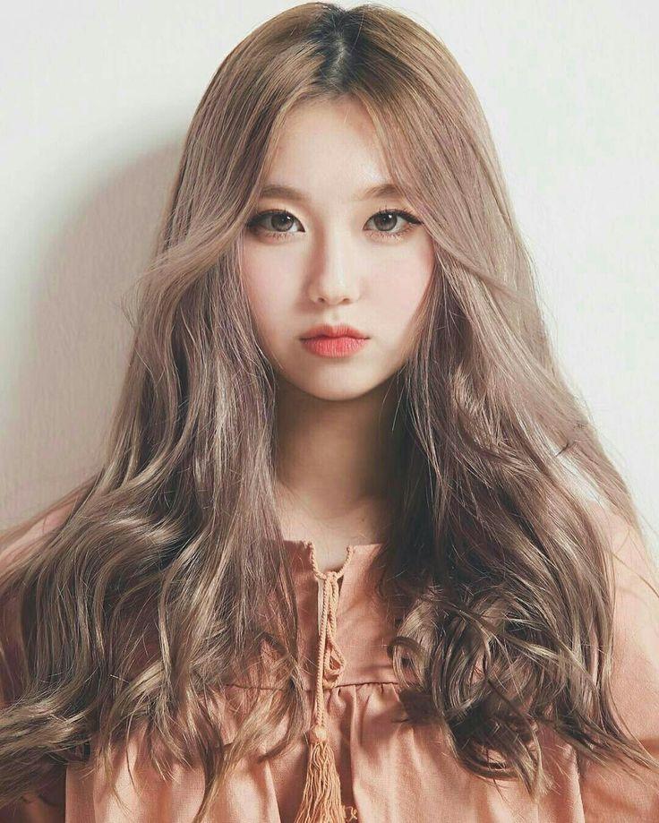 Фото азиаток со светлыми волосами