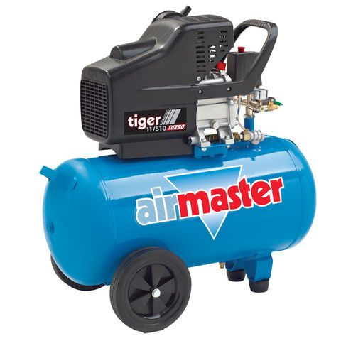 Airmaster Tiger 11/510 2.5hp 50 Litre Air Compressor - Machine Mart - Machine Mart
