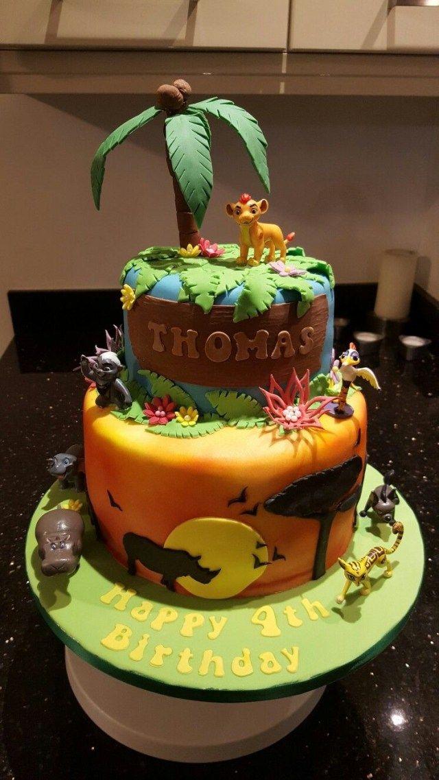 Wondrous 30 Pretty Photo Of Ralphs Birthday Cake Lion King Birthday Personalised Birthday Cards Arneslily Jamesorg