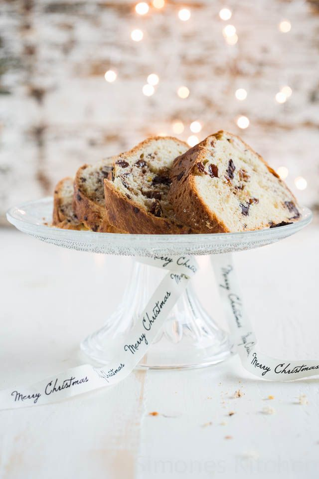 Chocolate hazelnut panettone | insimoneskitchen.com