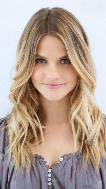 19 best mittellange haare images on pinterest hair highlights