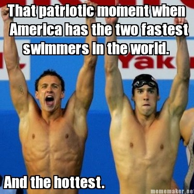 only in America. They're hot and fast.
