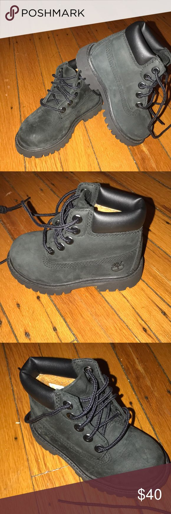 Kid Timberlands Boots Size 6c. Only wore a couple times. Great condition! Timberland Shoes Boots