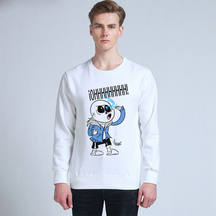 Holiday Gift Original Undertale Sans Unisex Thick Sweatershirts Cotton  Hoodies