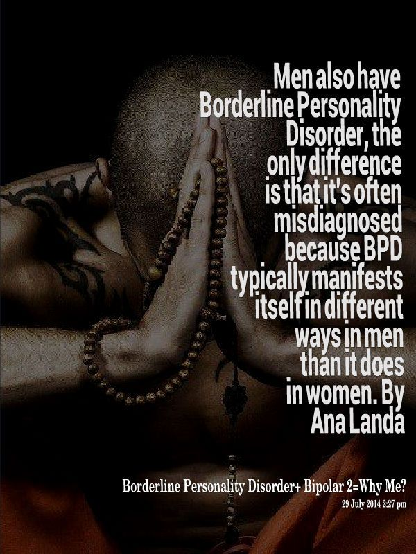 borderline personality disorder page