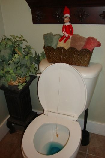 Hahaha!  I can't wait til the Elf on a Shelf comes to our house!